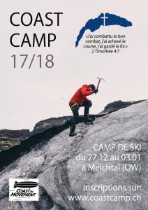 Affiche coast camp 2017-2018 copie