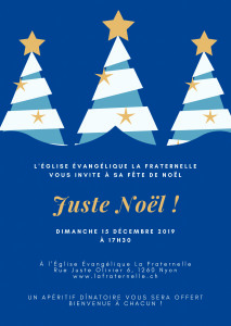 Fête de Noël 2019